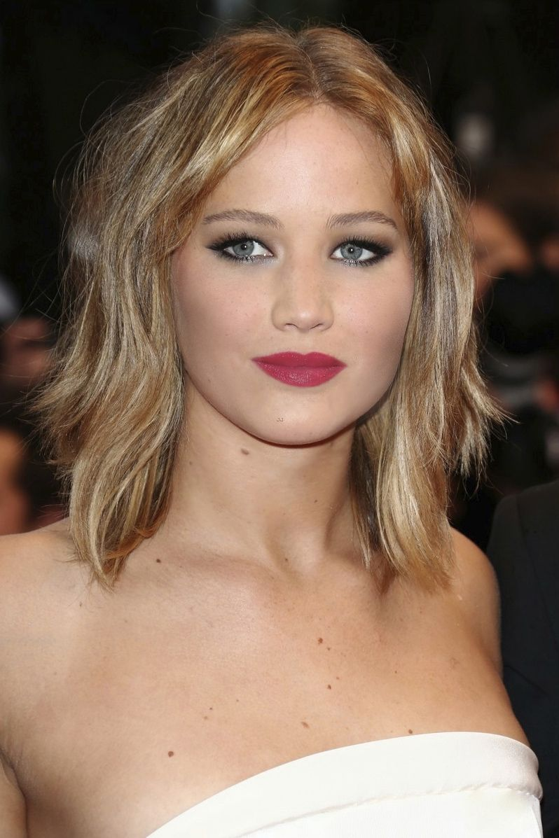 Jennifer Lawrence Cannes Makeup For Hooded Eyes Beauty And