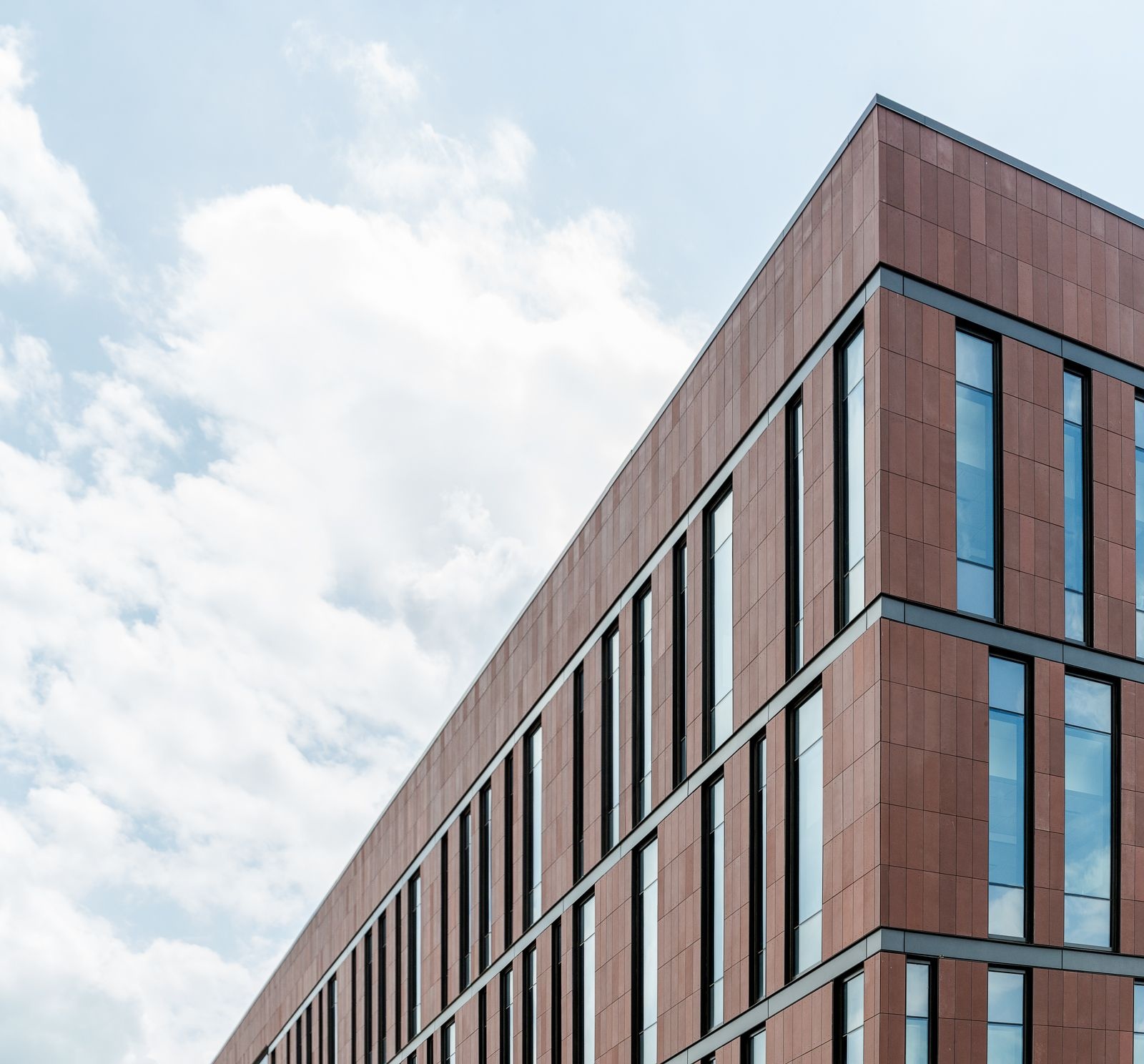SUNY Farmingdale School of Business TAKTL Facade Panels Higher Education Projects Pinterest