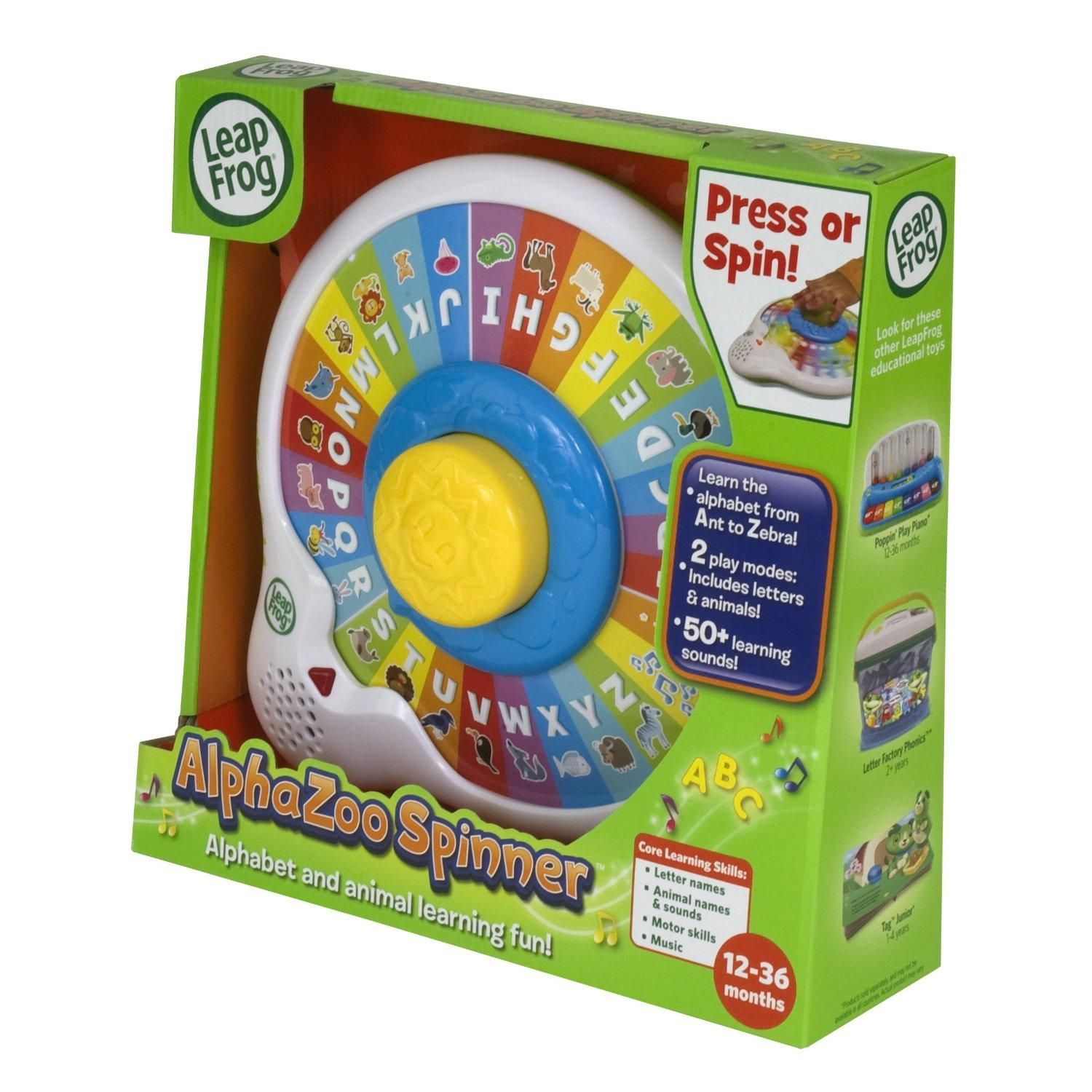 Leapfrog Abc Spinamals Leap Frog Toys Educational Toys For Kids