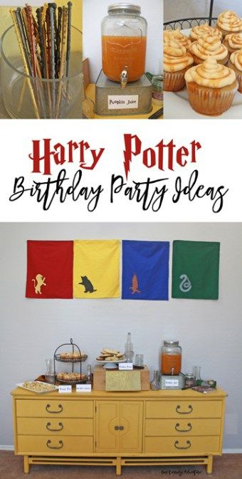 Hogwarts Birthday Party- Harry Potter Party Ideas- copy
