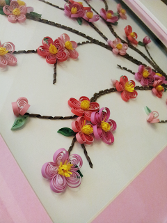 Quilled Cherry Blossoms Quilling Flowers Cherry Blossom Blossom