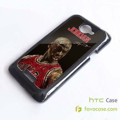 MICHAEL JORDAN 1 Chicago Bulls 23 Air HTC One X, M7, M8 Phone Case Cover