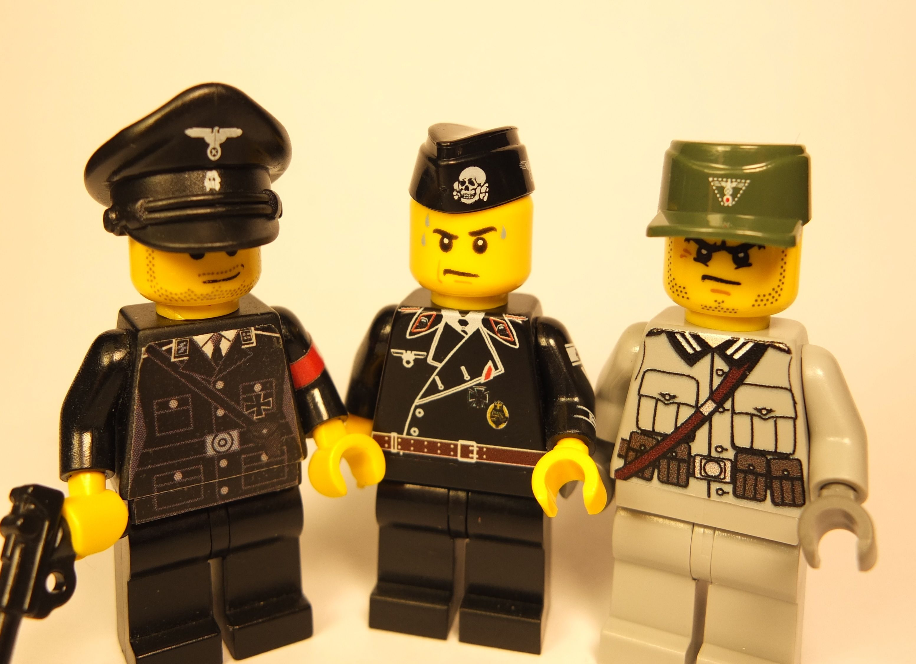 Custom Lego Minifigures German Soldiers with Brickssoldier