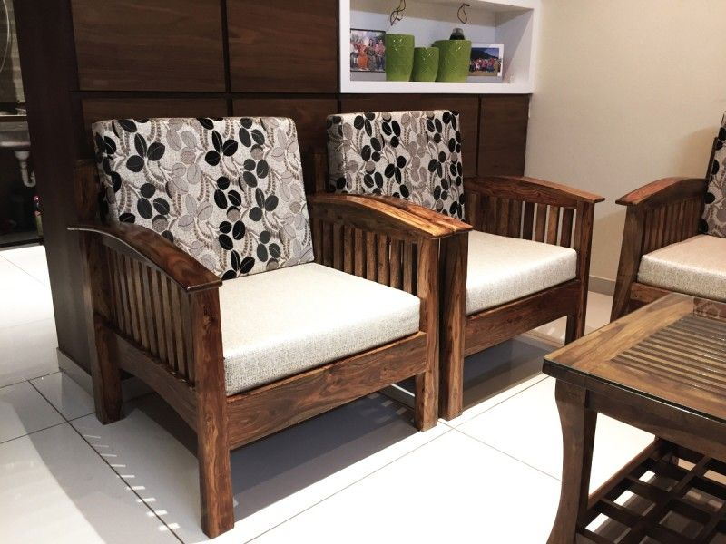 MAGNA Wooden Sofa | Wooden sofa, Furniture, Wood sofa