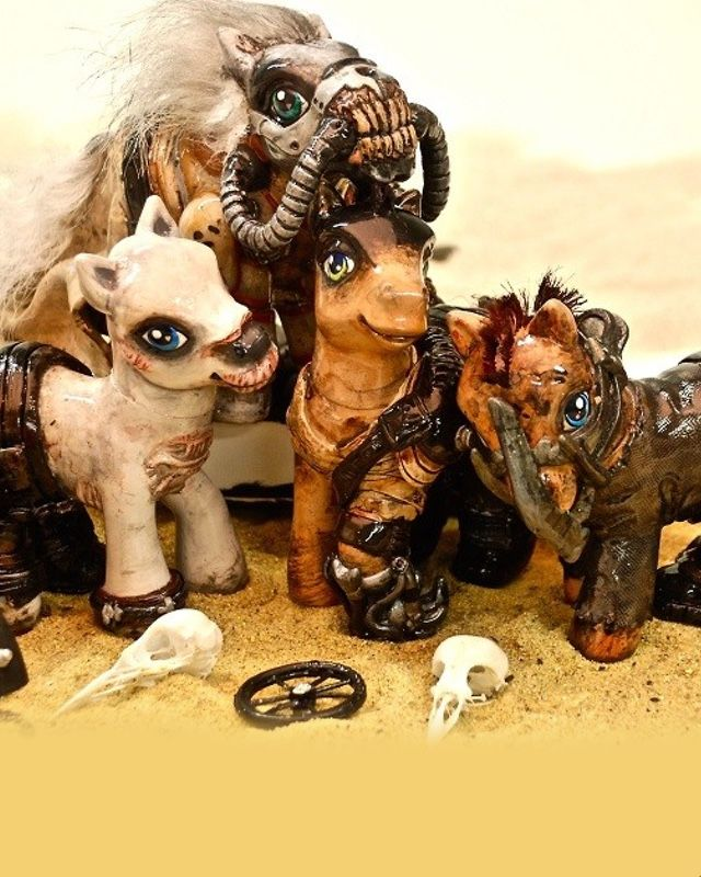 My Little Pony Reimagined As Mad Max Fury Road Characters Geektyrant My Little Pony Mad Max Pony