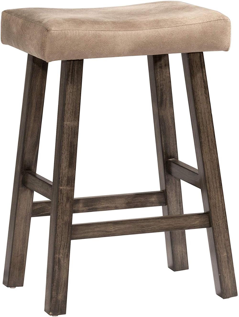 Amazon Com Hillsdale Furniture 4621 830 Saddle Backless Rustic Gray Bar Stool Kitchen Dining Bar Stools Grey Bar Stools Stool