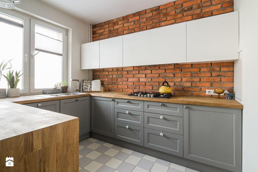 Czerwona Cegła Pomysły Do Domu W 2019 Kuchnia Wnętrze I