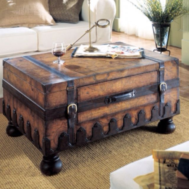 Outstanding Put Some Legs On One Of Your Many Trunks And Make Coffee Theyellowbook Wood Chair Design Ideas Theyellowbookinfo