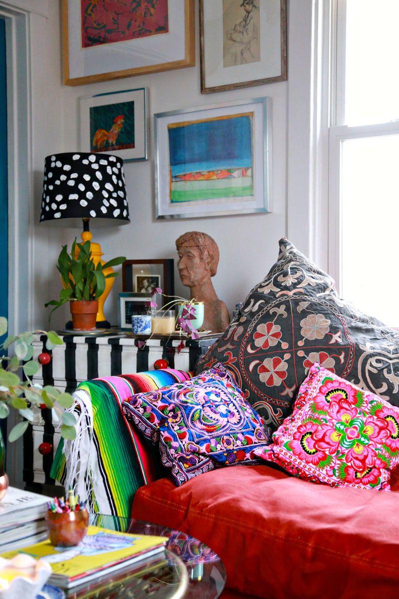 pics 7 Bold Bohemian Rooms Maximalists Will Love