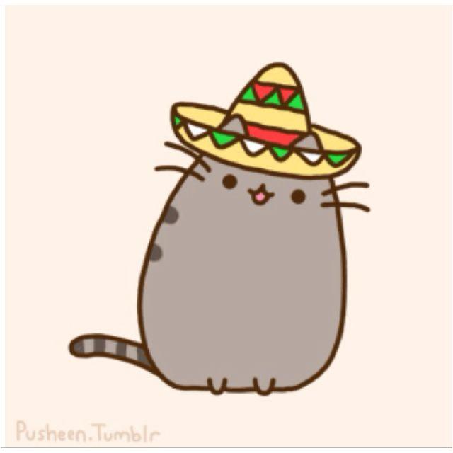 Taco Kitty Pusheen Coloring Pages Taco Cat Pusheen