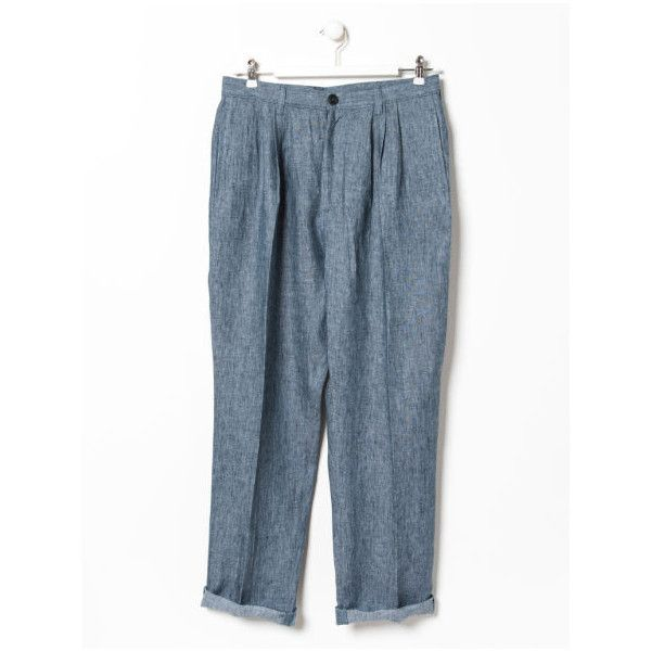 Other/Man Other/Man Karl Linen Triple Pleat Trouser (329,155 KRW ...