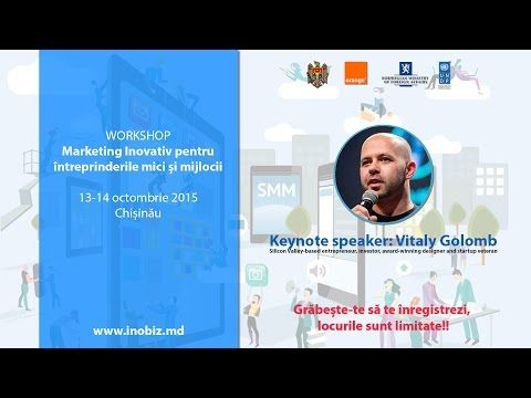 Innovative Marketing Workshop, 13-14 October 2015 - YouTube