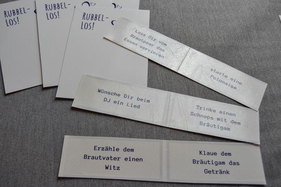 Rubbellose Mit Edding Spray Selber Basteln Ein Kreativer Diy Hochzeitsblog Rubbellos Edding Spray Notfallkorbchen Hochzeit