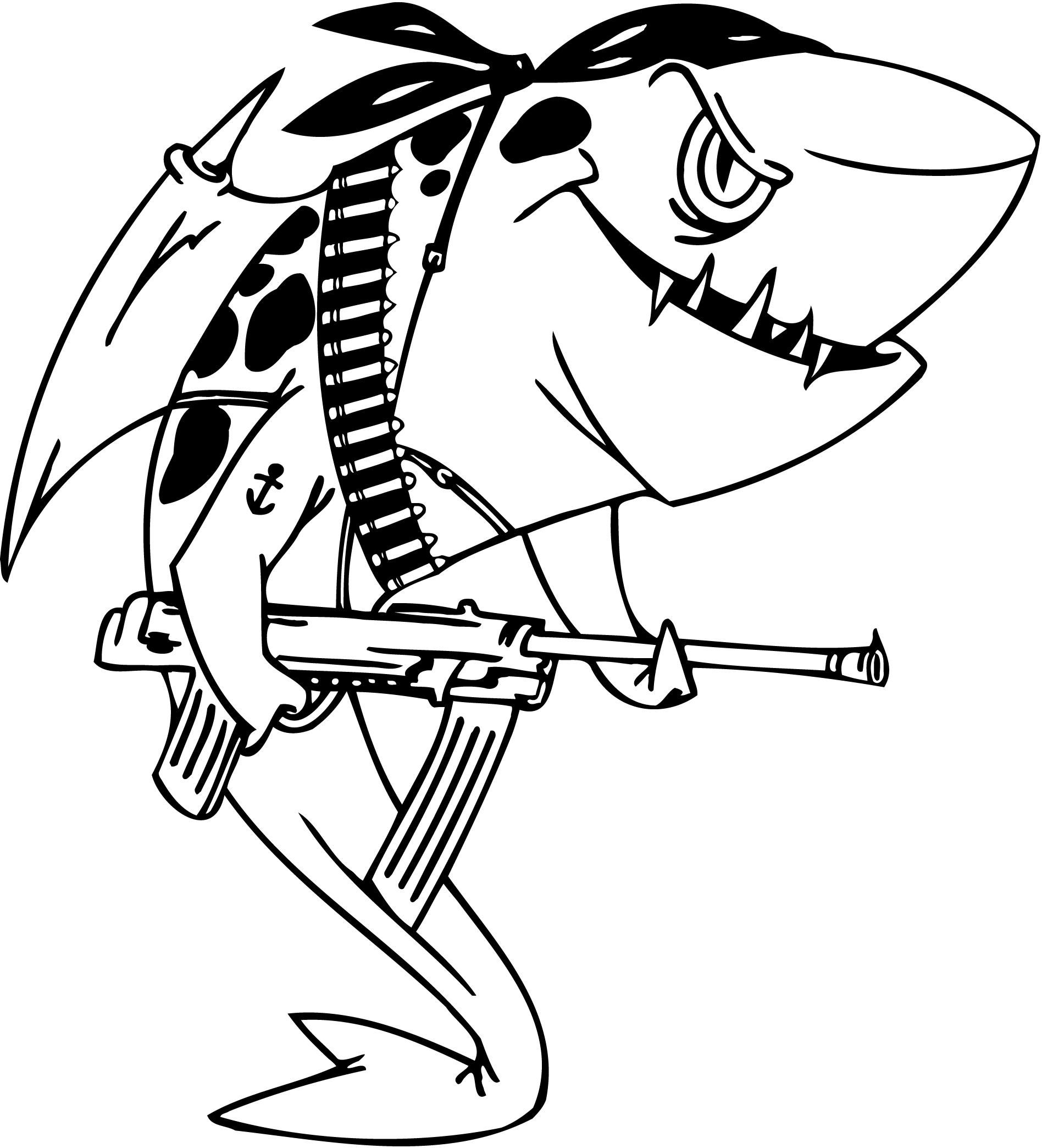 Tsmjra-In-Shark-Coloring-Pages.jpg (1896×2088) | cartoons 3 ...