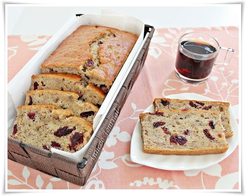 Banana, Cranberry and Apple Bread...haven't tried this yet it's in the pending recipe;)