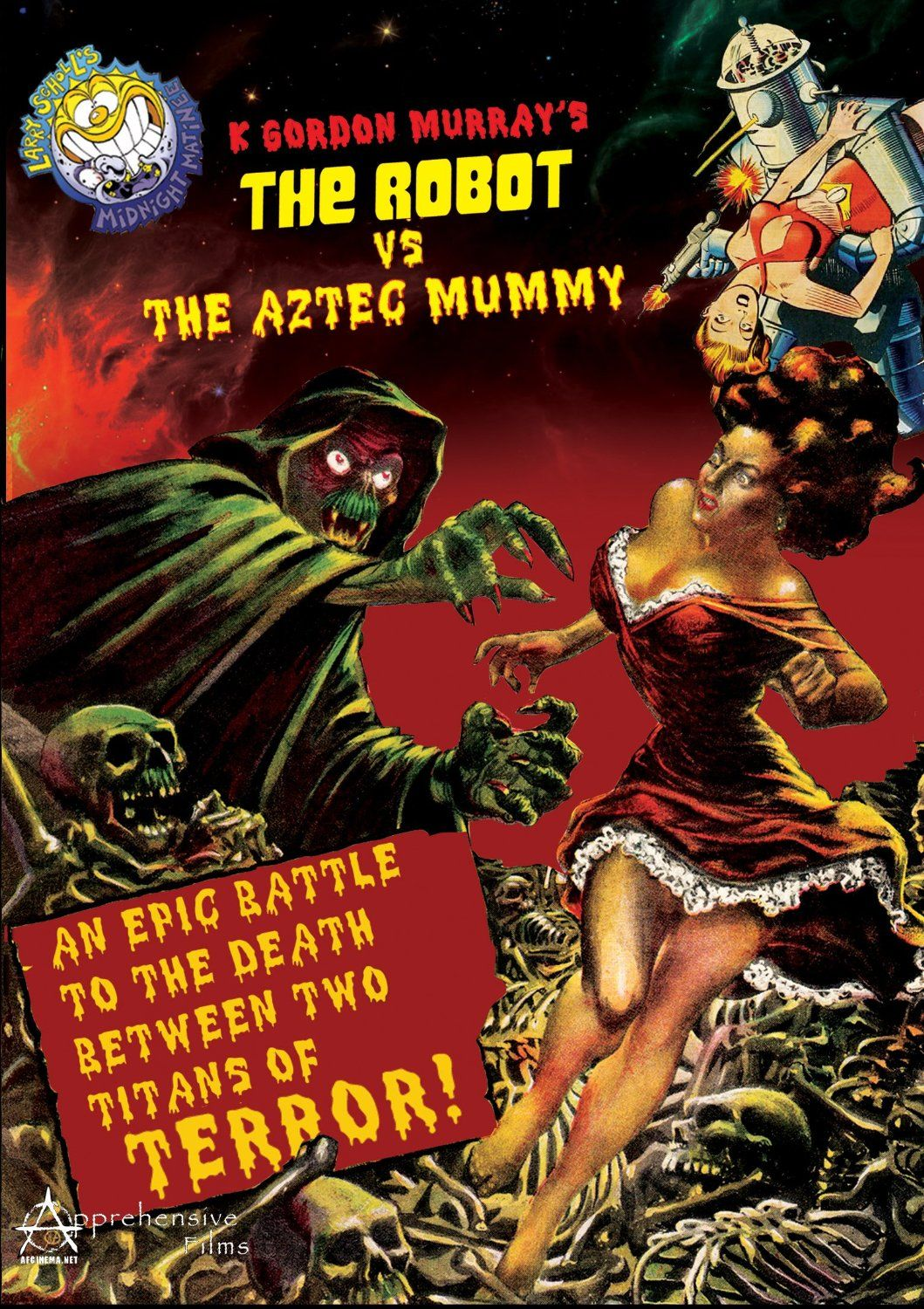 Image result for The Robot vs. The Aztec Mummy (1958)
