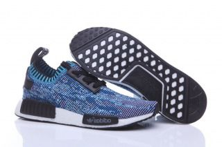brand new c180a c2998 Adidas Originals NMD R1 PK PrimeKnit Collegiate Navy Blue Camo Mens Running  Shoes BA8598