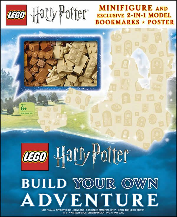 Nouveau Livre A Paraitre En 2019 Lego Harry Potter Build
