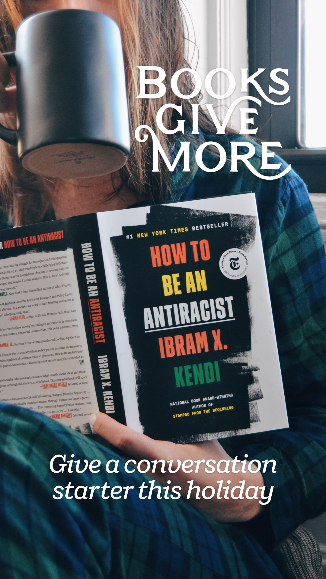 Give a conversation starter to readers looking to broaden their horizons. These nonfiction books including How to Be an Antiracist, Hood Feminism, Caste, and Between the World and Me will spark important dialogues with friends and family about issues of race, gender, and identity.