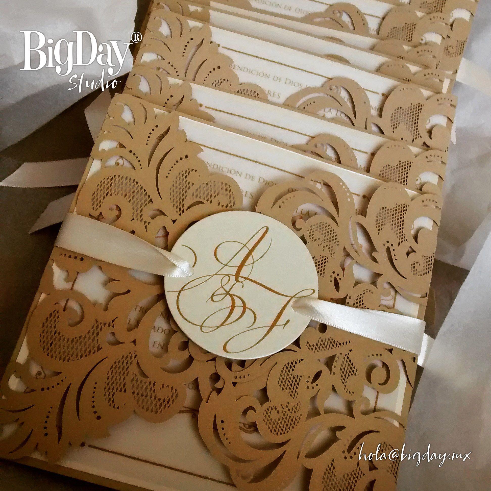 invitaciones de boda elegantes y modernas en dorado buscar con google - Invitaciones De Boda Elegantes