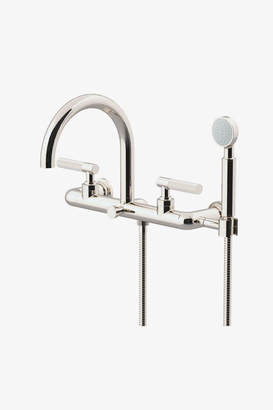 tub filler hand shower bathtub faucet