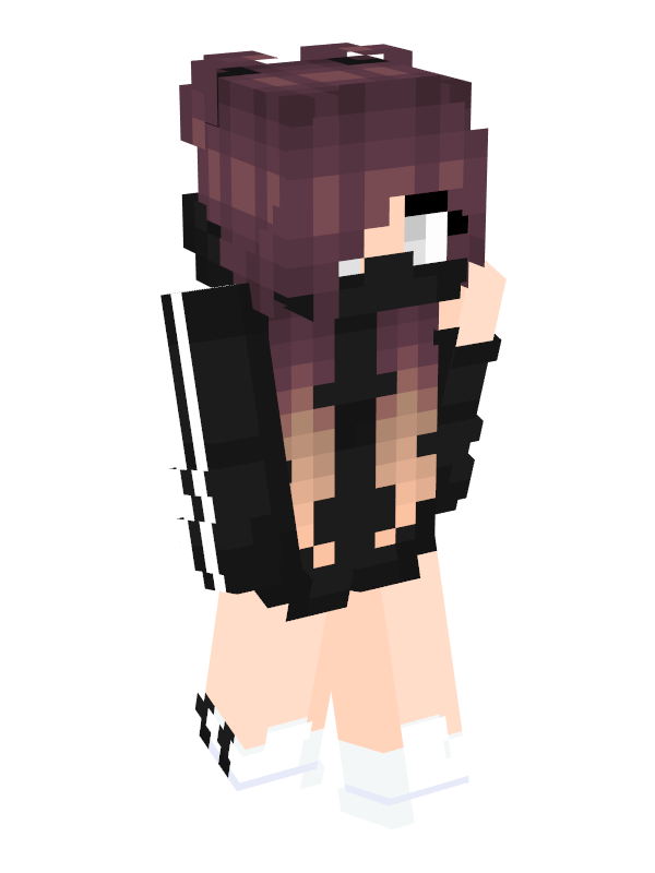 A Cute And Rebellious Style I Would Definitely Go Out Like This Irl Because My Clothing Style Is Urban Skins Para Minecraft Ideias De Minecraft Skin Minicraft