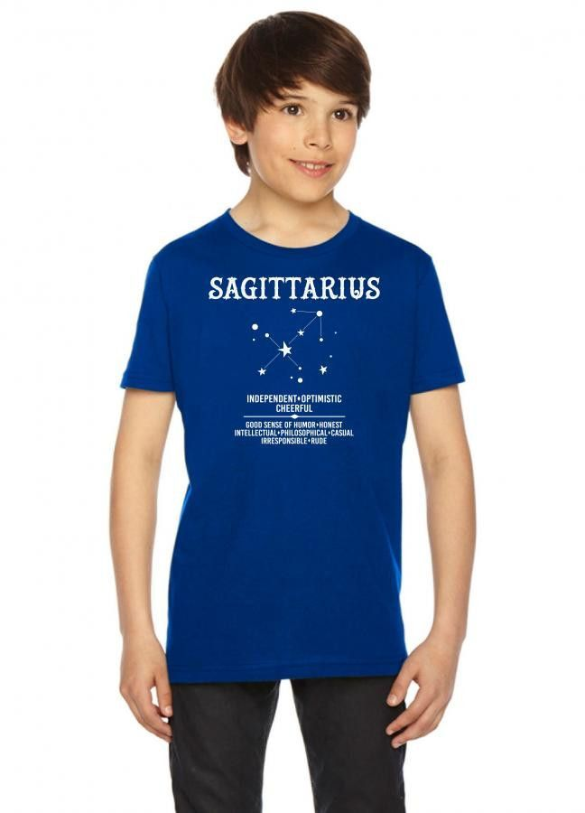 Sagittarius Zodiac Sign Youth Tees