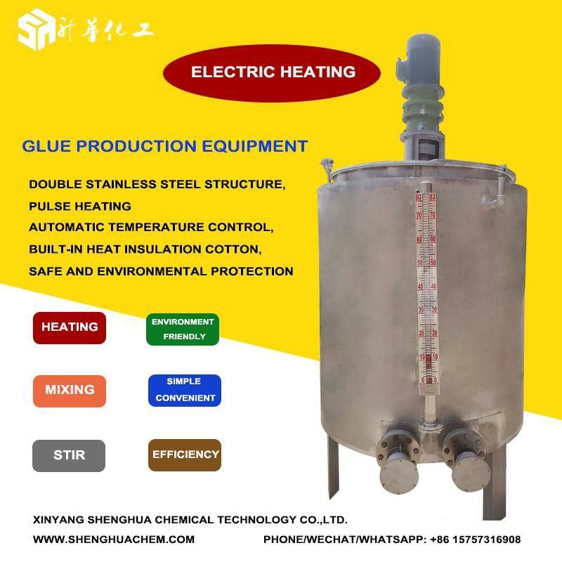 Reactor Glue Making Machine Hot Melt Adhesive Electric Heating Heat Insulation