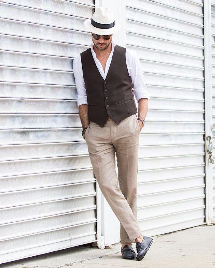 ▷ 1001+ Idées Et Inspirations Pour Porter Le Pantalon Lin Homme