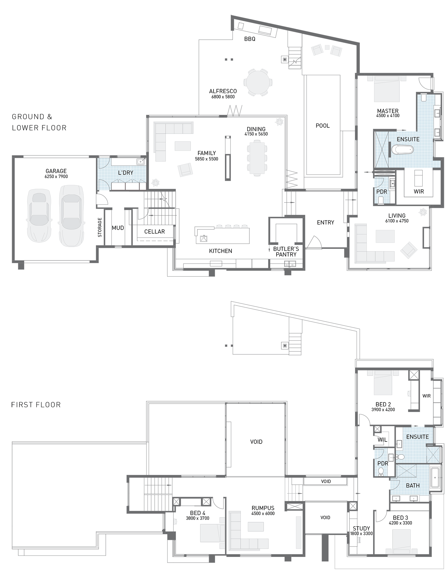 Floor Plan Friday Corner Block Split Level Split Level Floor Plans Split Level House Plans Floor Plans