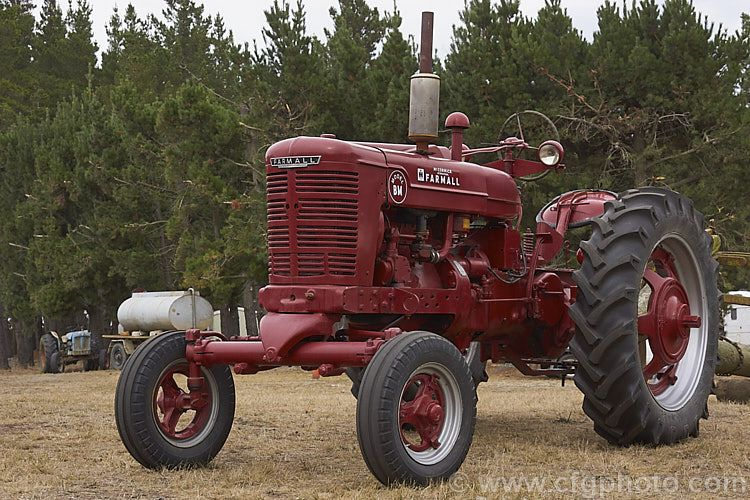 The BM was the British-built version of the Farmall M, a larger