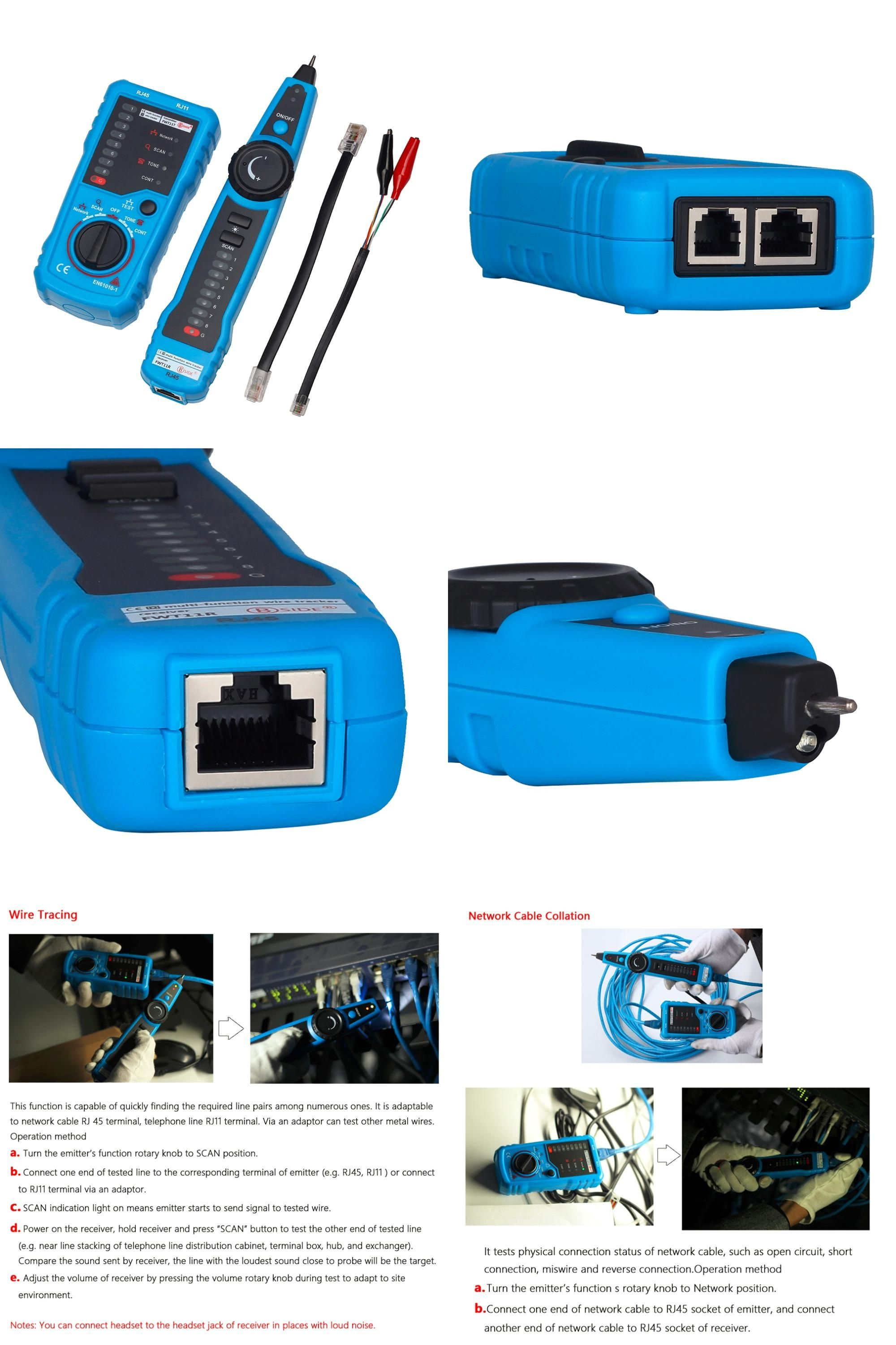 Visit to Buy] High Quality RJ11 RJ45 Cat5 Cat6 Telephone Wire ...