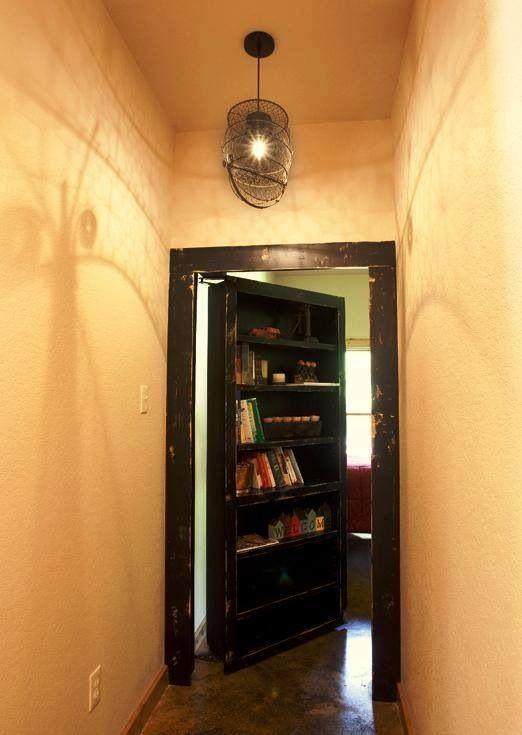 Bookshelf door!