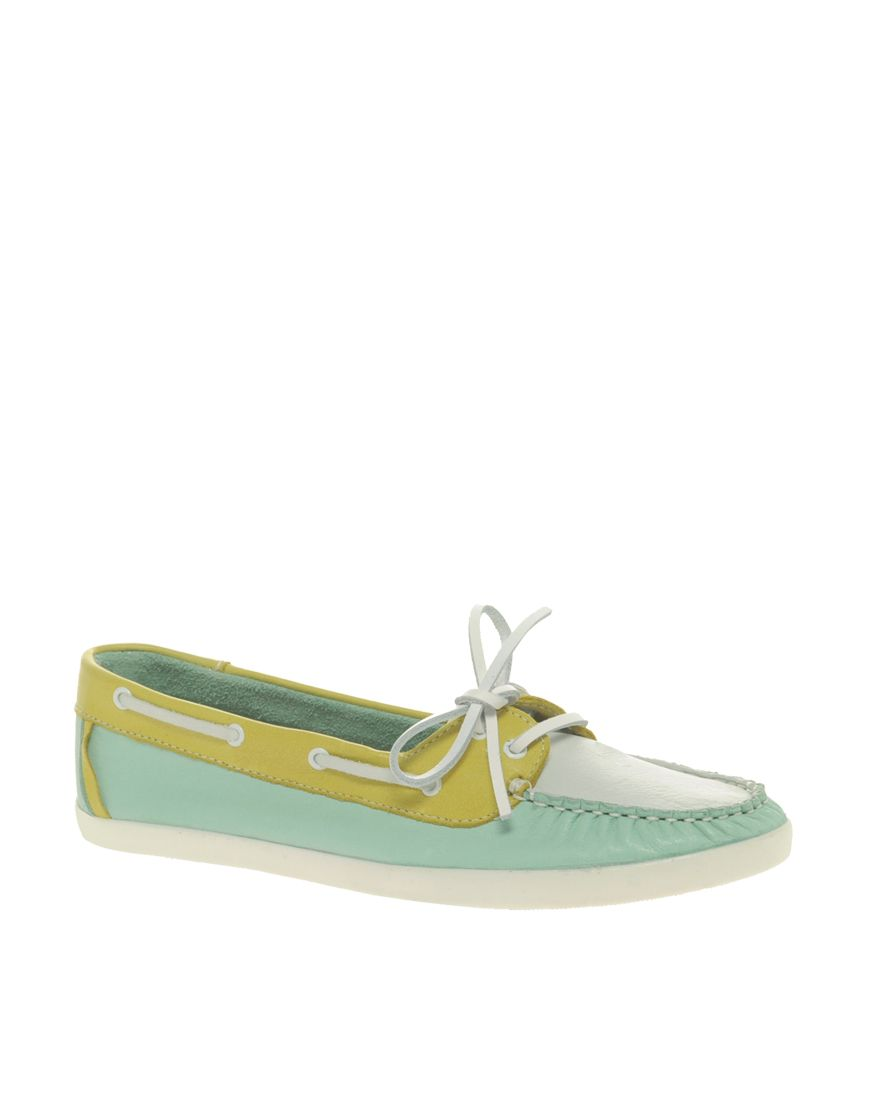 Mint + Chartreuse Boat Shoes. Might be the greatest thing I've ever seen.
