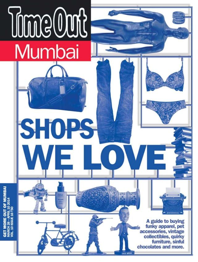 Time Out Mumbai - March 28 2014 : We scoured three cities to come up with the best of stores that specialise in off kilter designer wear, preloved fashion, craft supplies, one stop shop for pooches & denims that fit you like dream. That's not all there are exhibitions, book sales & designer shows that you should look out for throughout year. And if you can't avoid being in a mall, then our list of handpicked stores that ar...   More