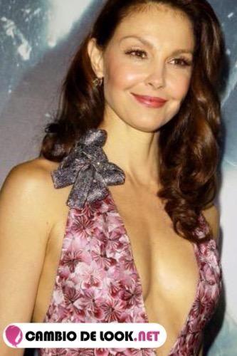 Ashley Judd sin usar maquillaje