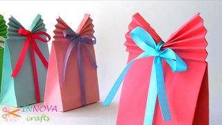 Origami Diamond Box (Make a paper jewelry box) - video dailymotion | 180x320