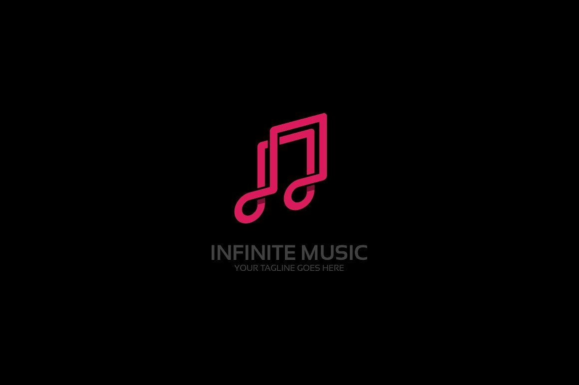 Infinite Music Logo In 2020 Music Logo Professional Logo Design Logos