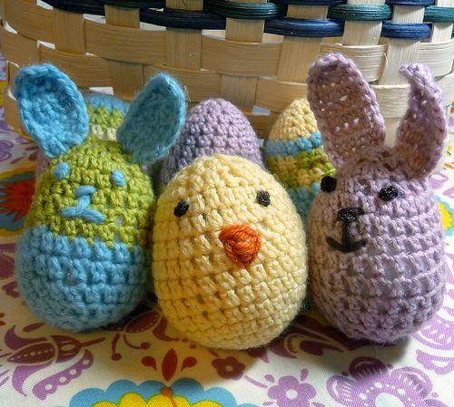 Easter Crafts Round-Up: 24 Super Cute Crafts | Muñecas, Tejido y ...