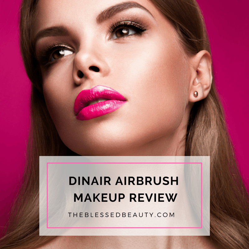 Dinair Airbrush Makeup Kit Review Airbrush makeup