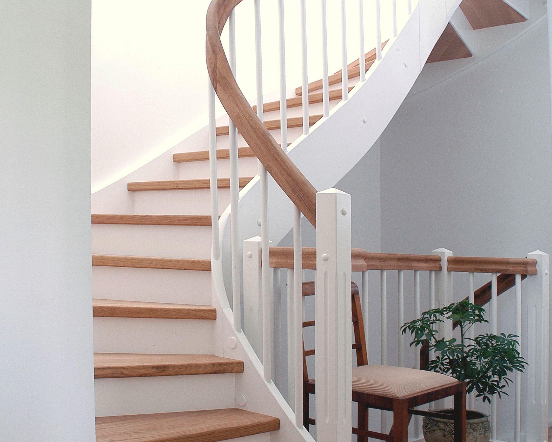 treppe eingestemmt mit setzstufen pinterest setzstufen treppe und gel nder. Black Bedroom Furniture Sets. Home Design Ideas