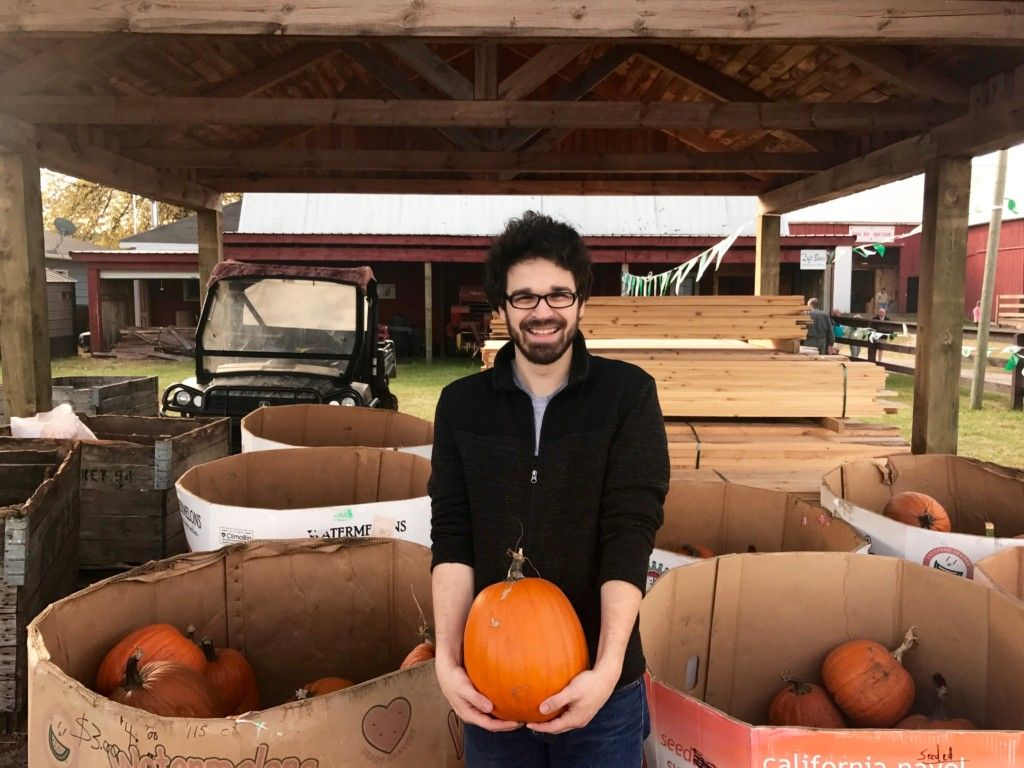 Experiencing Northern Michigan Picking Pumpkins At Geers Farms In McBain