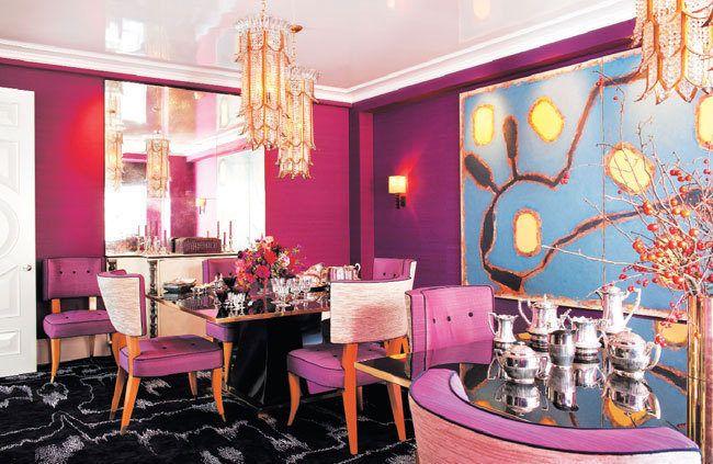 Designer Amanda Nisbet Swathes Proper Park Ave. in Color | Room ...
