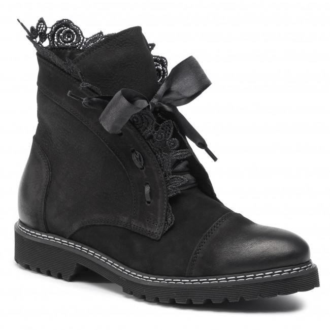 Botki Oleksy 2513 B22 000 000 000 Czarny Botki Kozaki I Inne Damskie Eobuwie Pl Boots Combat Boots Shoes