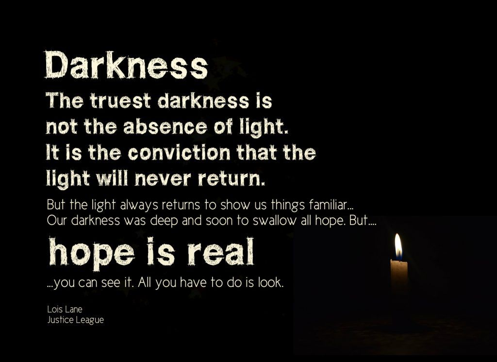 Hope In The Darkness At Christmas Justice Quotes True Quotes
