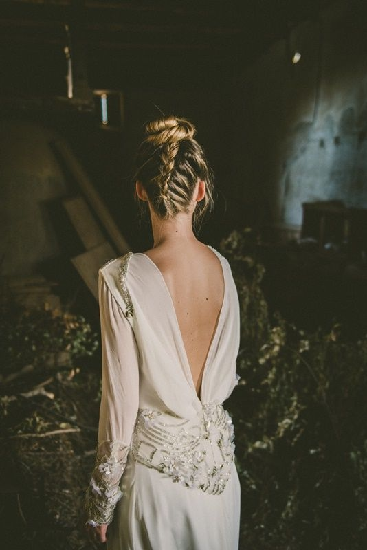 detalhes costas vestido de noiva