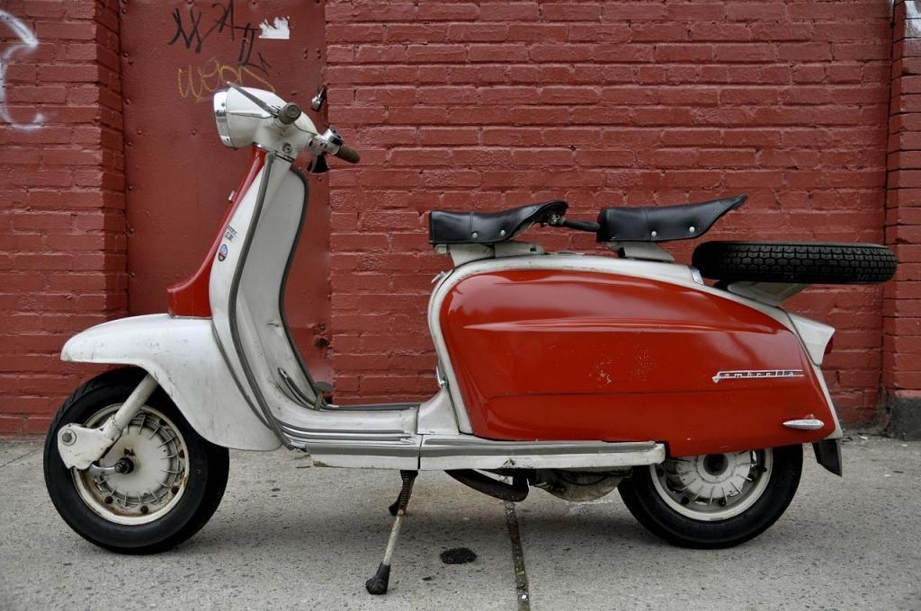 Lambretta li 150 series 3 1962 cadillac
