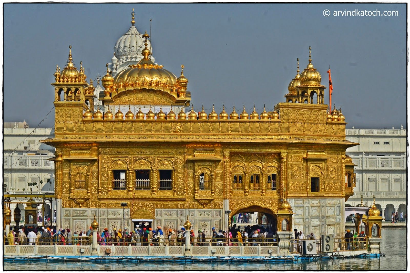 ArvindKatoch's Photography: Beautiful The Golden Temple (The Harmandir Sahib) Main Gurdawara Picture