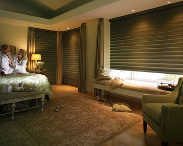 Blackout Window Treatments - traditional - Bedroom - Bellagio Window Fashions 419-381-2700