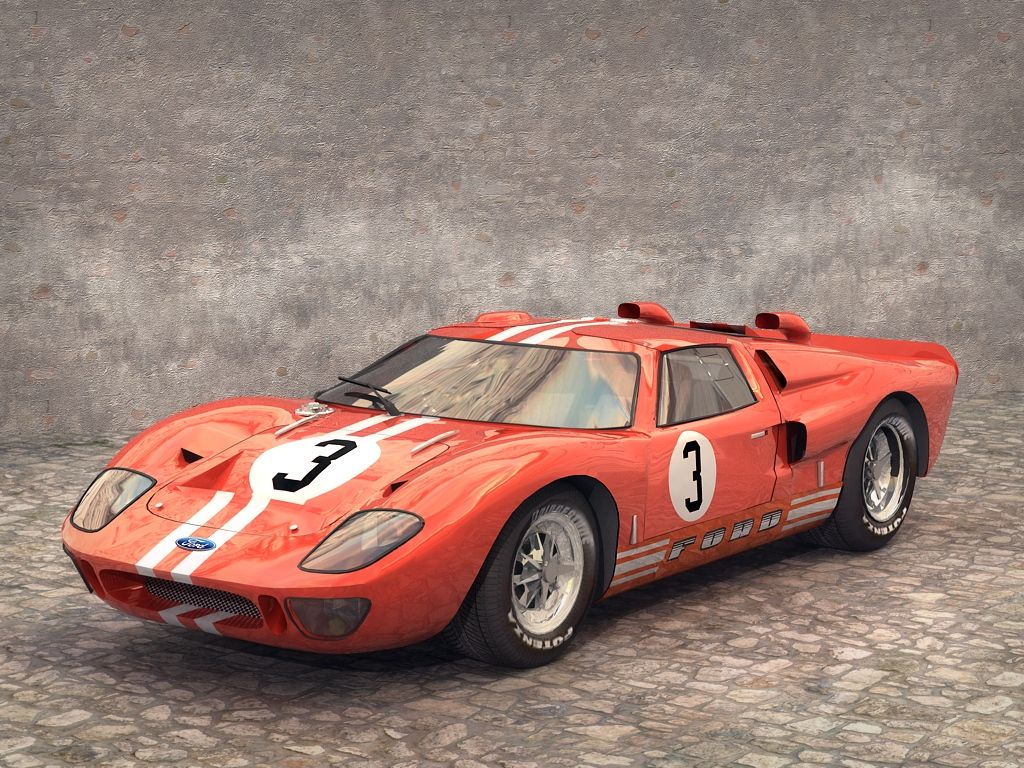 1966 Ford Gt40 Mk2 Halmtri5 Wallpaper With Images Ford Gt40